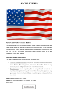 Copywriting example: What's on the November Ballot?