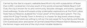 Real Estate Copywriting: Carmel-by-the-Sea