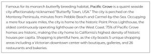 Real Estate Copywriting: Pacific Grove