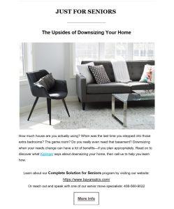 Copywriting example for real estate agents