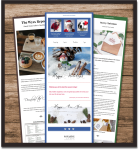Sample Mailchimp newsletter templates