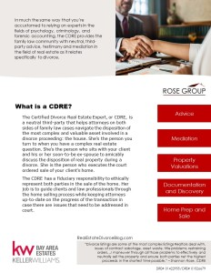 What is a CDRE