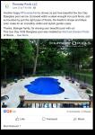 Example of Facebook social marketing.
