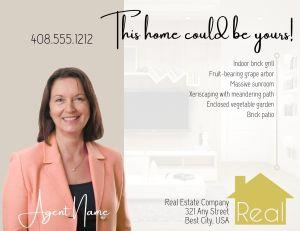 Real Estate Listing Postcard_back