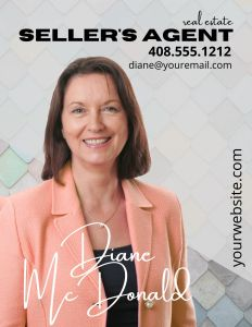 Digital business card for a real estate agent
